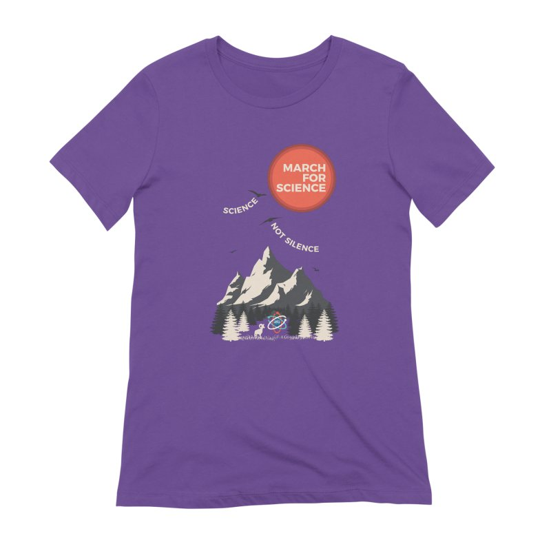 Denver March For Science Ecology Women's Extra Soft T-Shirt by Denver March For Science's Artist Shop