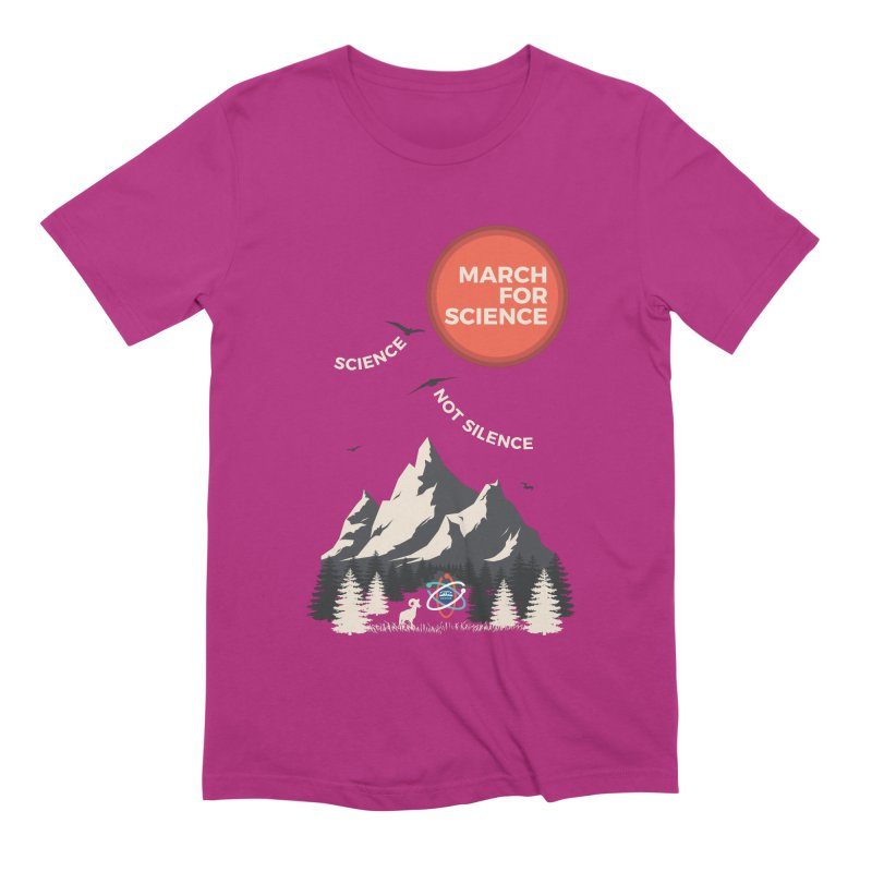 Denver March For Science Ecology Men's Extra Soft T-Shirt by Denver March For Science's Artist Shop
