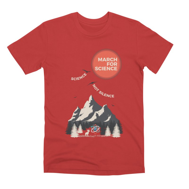 Denver March For Science Ecology Men's Premium T-Shirt by Denver March For Science's Artist Shop