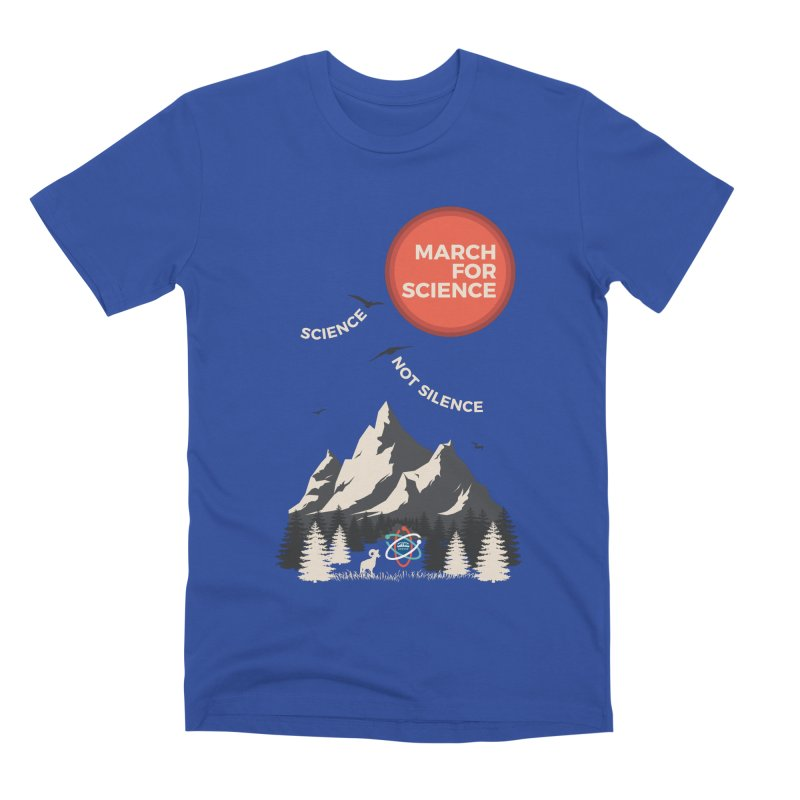 Denver March For Science Ecology Men's T-Shirt by Denver March For Science's Artist Shop