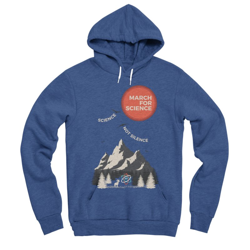 Denver March For Science Ecology Women's Sponge Fleece Pullover Hoody by Denver March For Science's Artist Shop