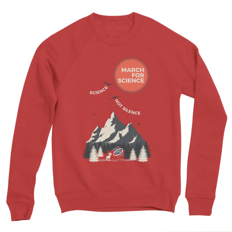 Denver March For Science Ecology Men's Sweatshirt by Denver March For Science's Artist Shop