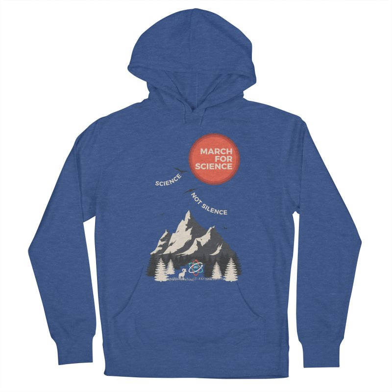 Denver March For Science Ecology Men's Pullover Hoody by Denver March For Science's Artist Shop