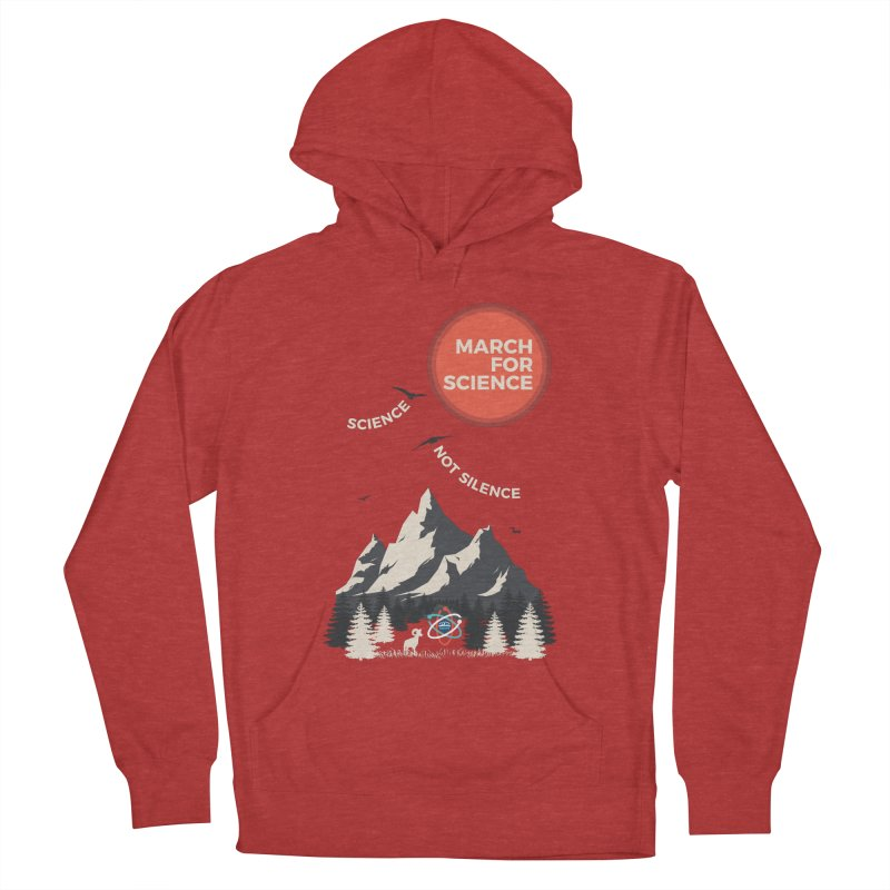 Denver March For Science Ecology Women's French Terry Pullover Hoody by Denver March For Science's Artist Shop