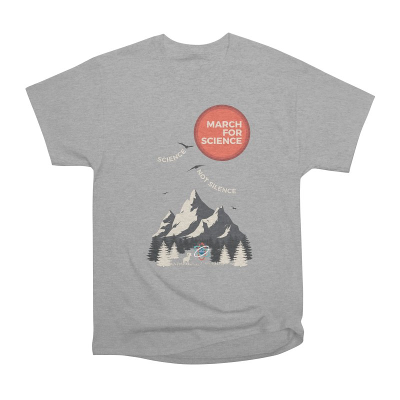 Denver March For Science Ecology Women's Heavyweight Unisex T-Shirt by Denver March For Science's Artist Shop