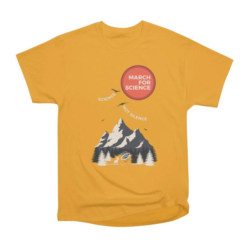 Denver March For Science Ecology Women's Heavyweight Unisex T-Shirt by Denver March For Science's Artist Shop