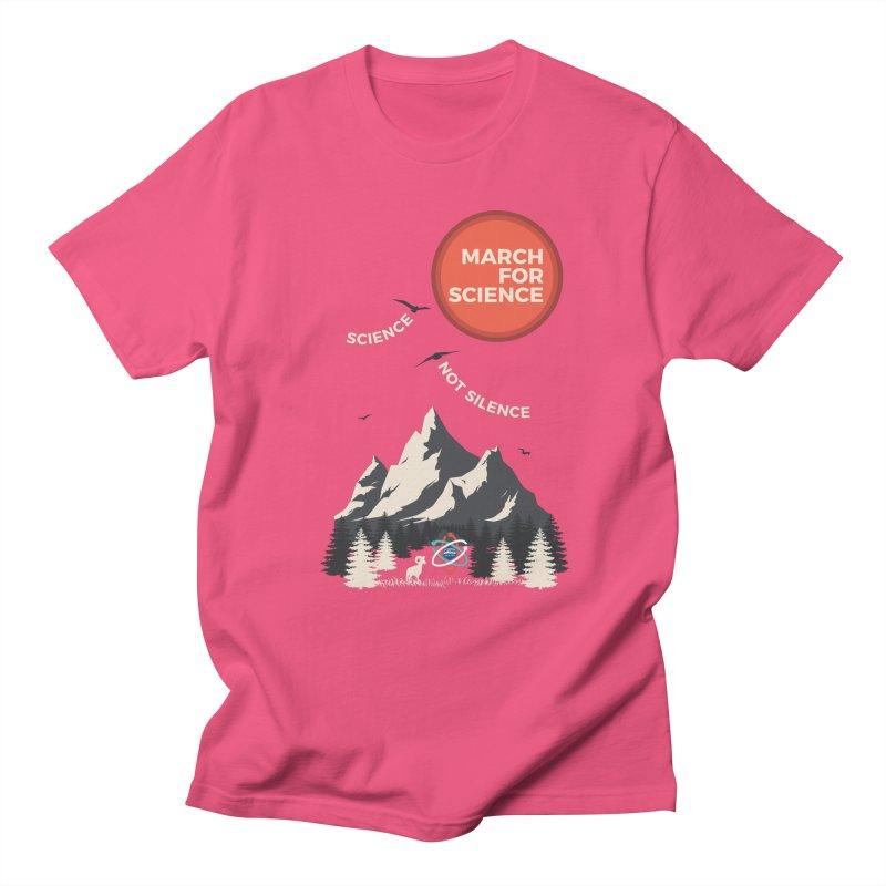 Denver March For Science Ecology Men's Regular T-Shirt by Denver March For Science's Artist Shop