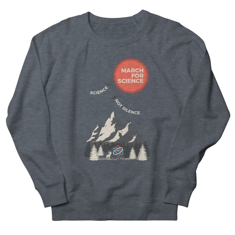 Denver March For Science Ecology Women's French Terry Sweatshirt by Denver March For Science's Artist Shop