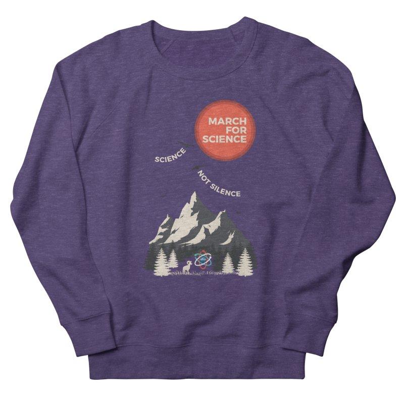 Denver March For Science Ecology Men's French Terry Sweatshirt by Denver March For Science's Artist Shop