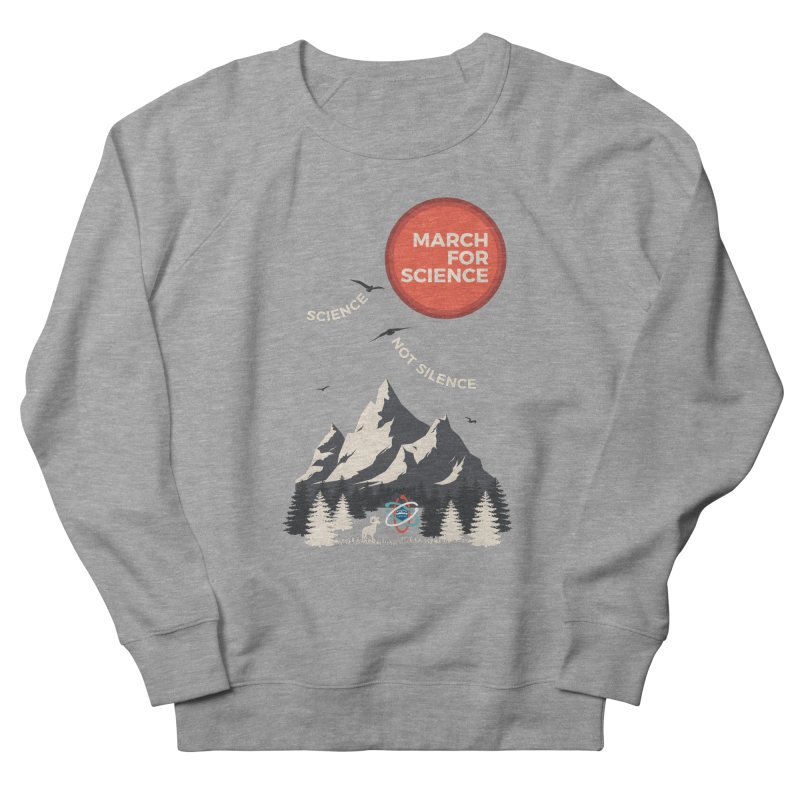 Denver March For Science Ecology Men's French Terry Sweatshirt by Denver March For Science's Artist Shop