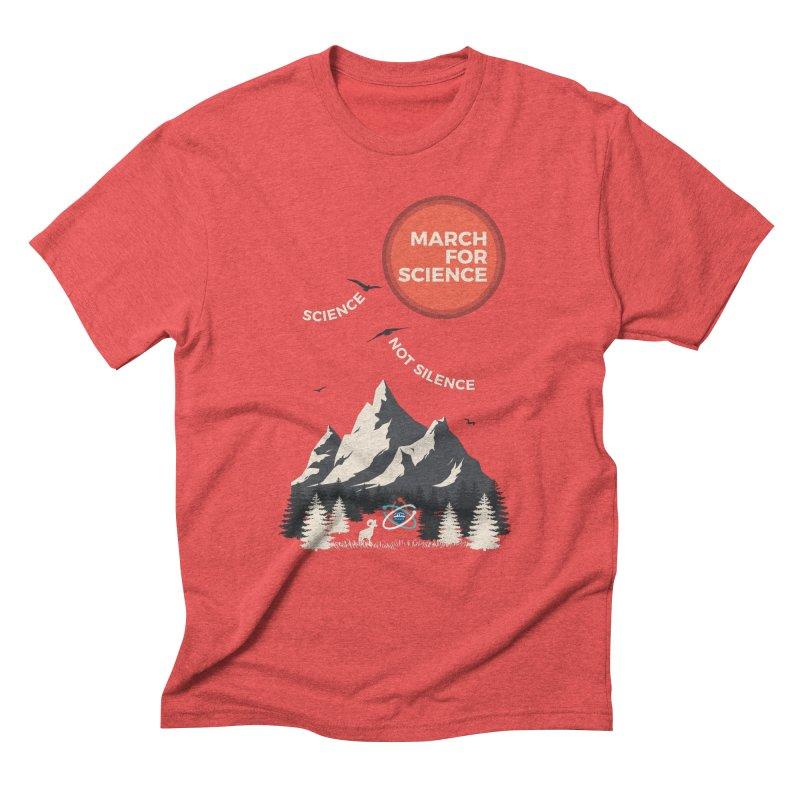 Denver March For Science Ecology Men's Triblend T-Shirt by Denver March For Science's Artist Shop