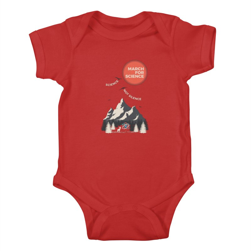 Denver March For Science Ecology Kids Baby Bodysuit by Denver March For Science's Artist Shop
