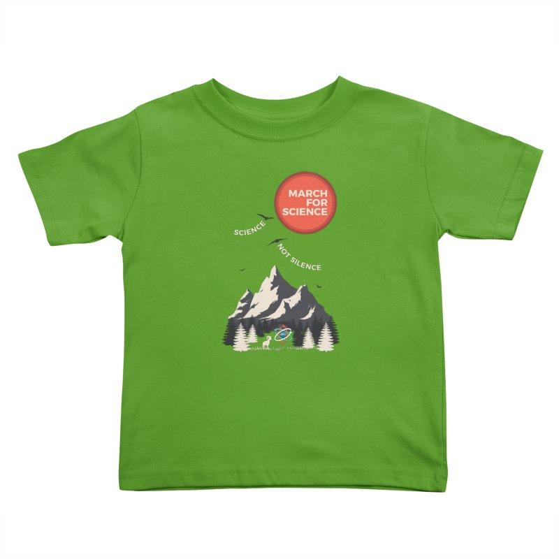 Denver March For Science Ecology Kids Toddler T-Shirt by Denver March For Science's Artist Shop