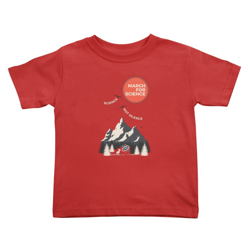 Denver March For Science Ecology Kids Toddler T-Shirt by Denver March For Science's Artist Shop