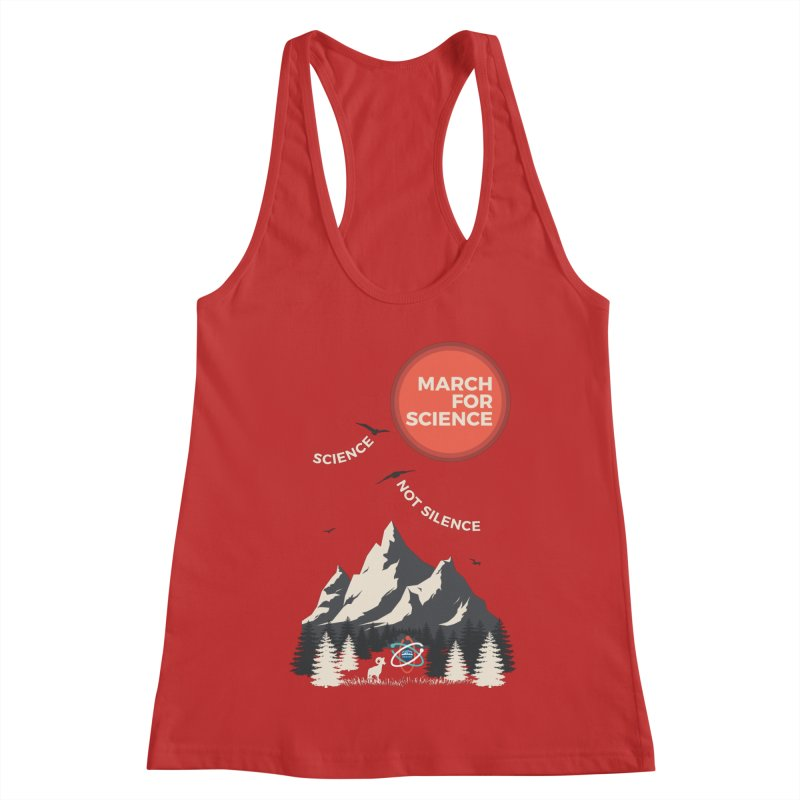 Denver March For Science Ecology Women's Tank by Denver March For Science's Artist Shop