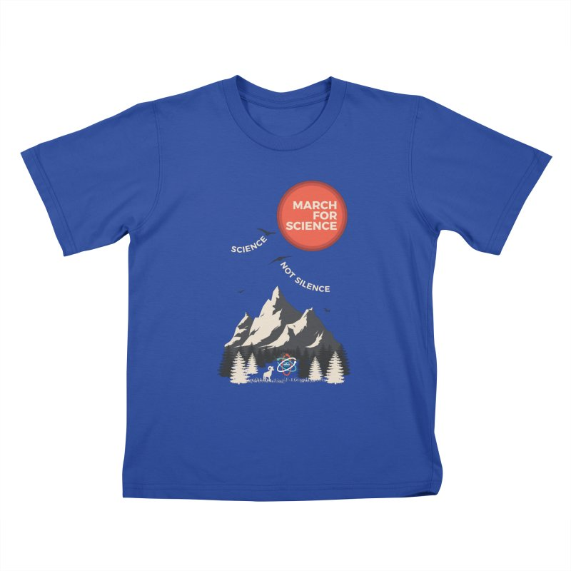Denver March For Science Ecology Kids T-Shirt by Denver March For Science's Artist Shop