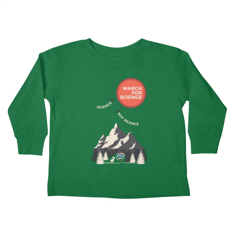 Denver March For Science Ecology Kids Toddler Longsleeve T-Shirt by Denver March For Science's Artist Shop