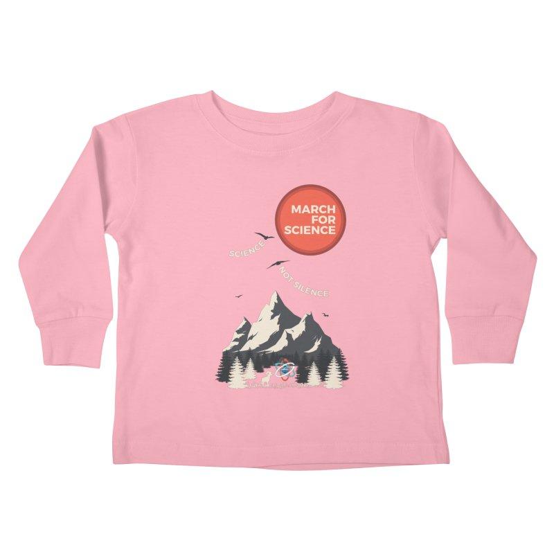 Denver March For Science Ecology Kids Toddler Longsleeve T-Shirt by Denver March For Science's Artist Shop
