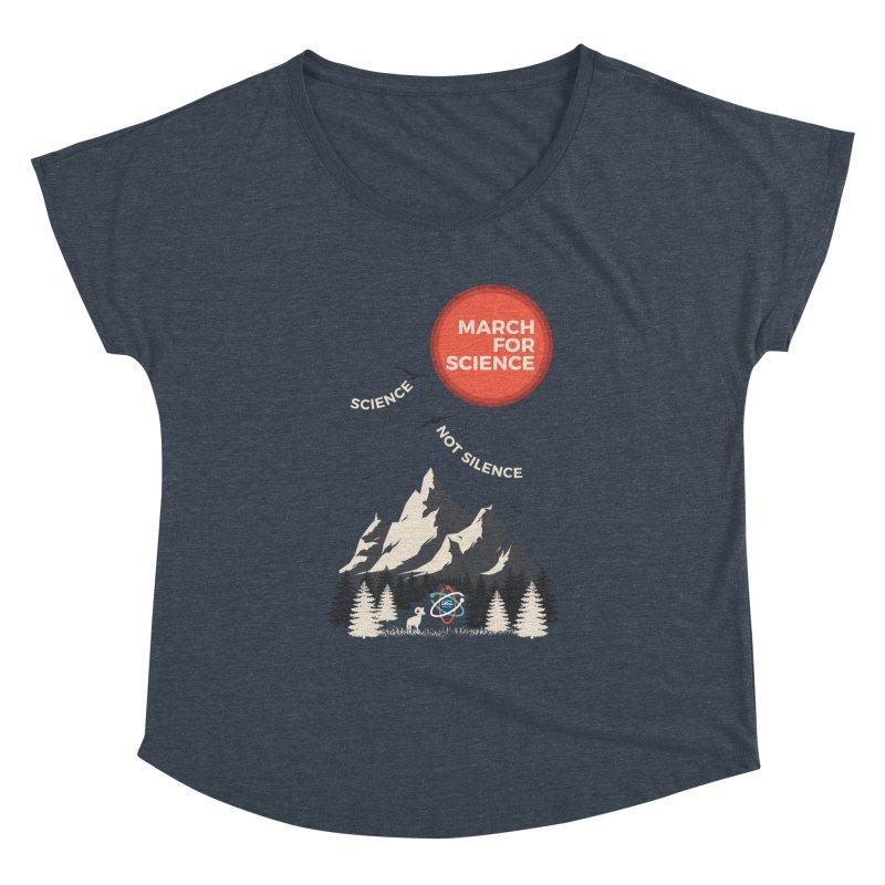 Denver March For Science Ecology Women's Dolman Scoop Neck by Denver March For Science's Artist Shop