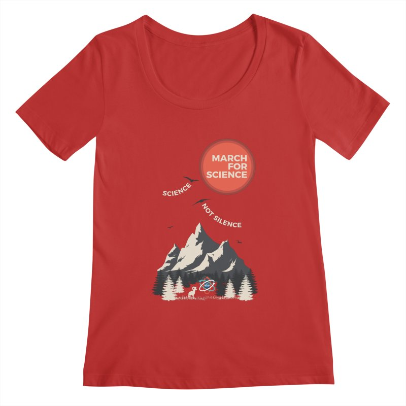 Denver March For Science Ecology Women's Regular Scoop Neck by Denver March For Science's Artist Shop