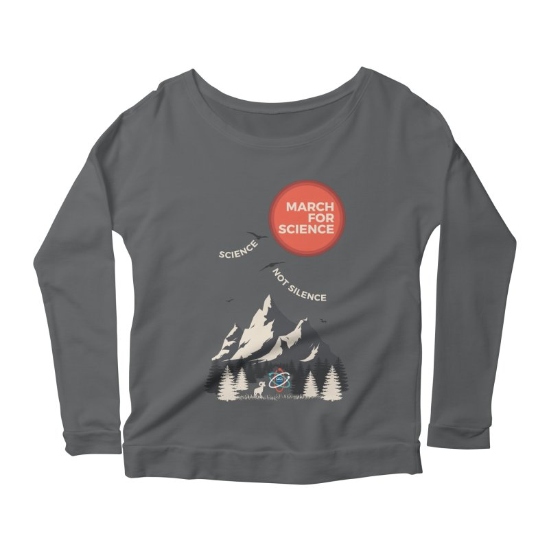 Denver March For Science Ecology Women's Longsleeve Scoopneck  by Denver March For Science's Artist Shop