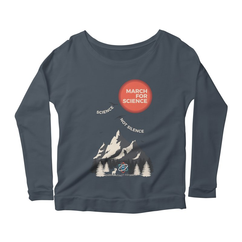 Denver March For Science Ecology Women's Scoop Neck Longsleeve T-Shirt by Denver March For Science's Artist Shop