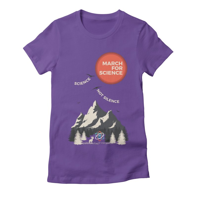 Denver March For Science Ecology Women's Fitted T-Shirt by Denver March For Science's Artist Shop