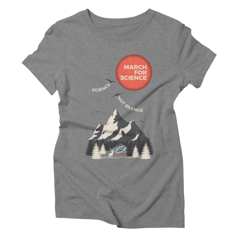 Denver March For Science Ecology Women's Triblend T-Shirt by Denver March For Science's Artist Shop