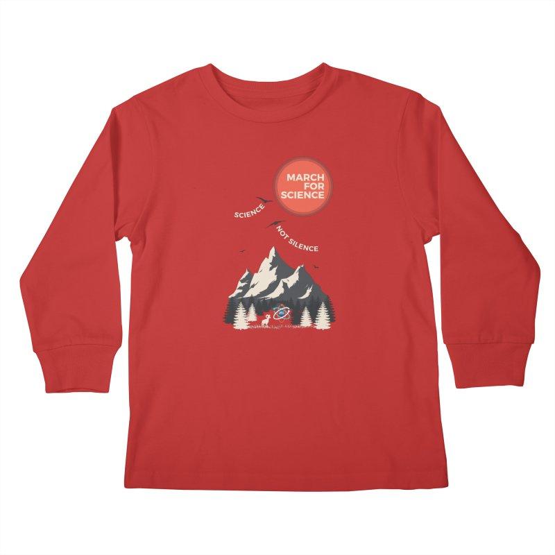 Denver March For Science Ecology Kids Longsleeve T-Shirt by Denver March For Science's Artist Shop