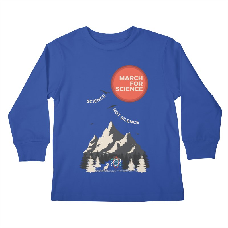 Denver March For Science Ecology Kids Longsleeve T-Shirt by Denver March For Science's Artist Shop
