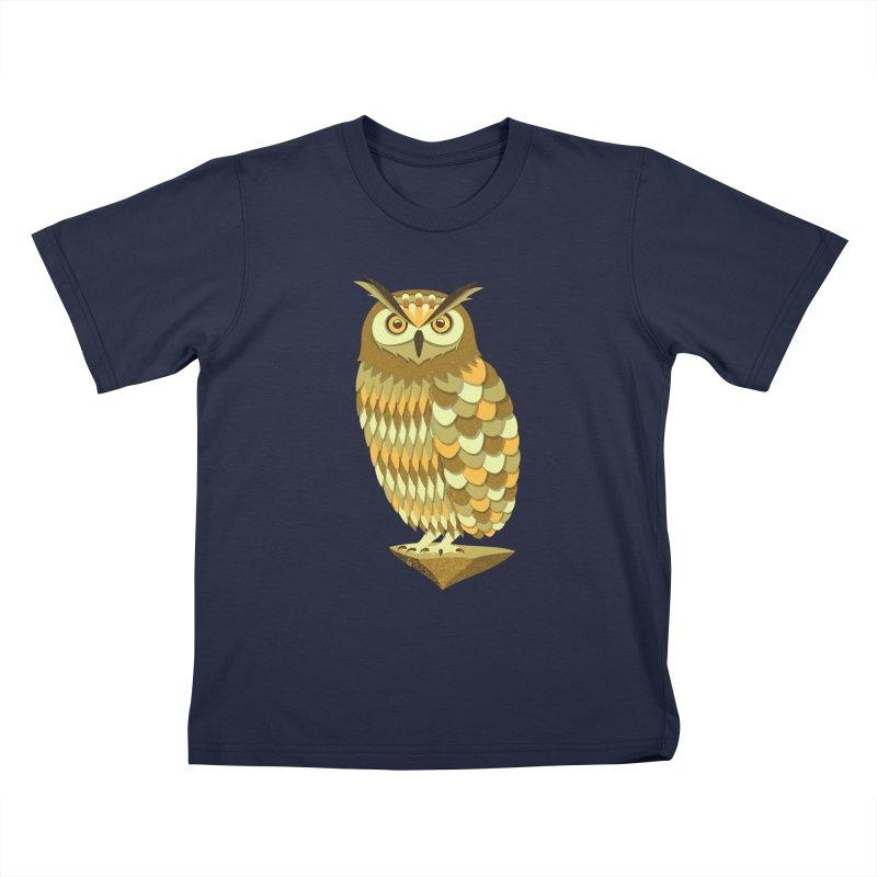 Mowly Kids T-Shirt by deonic's Artist Shop