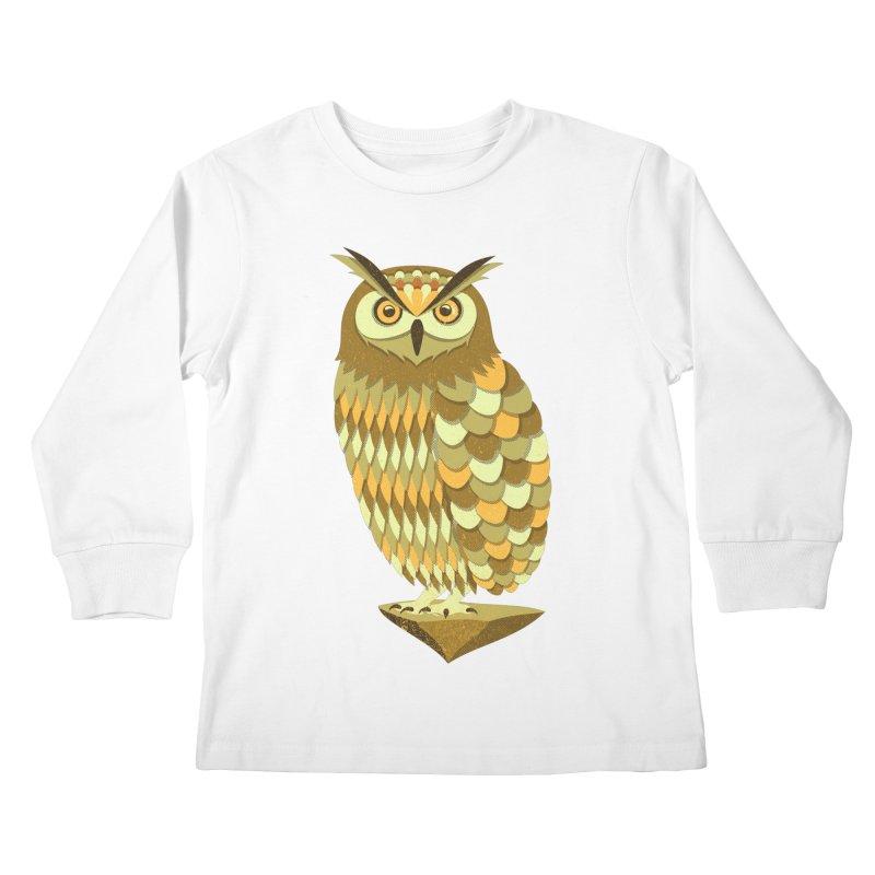 Mowly Kids Longsleeve T-Shirt by deonic's Artist Shop