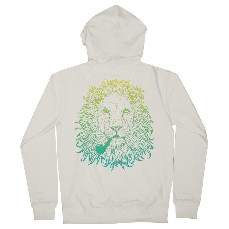 Lionize Me!! Men's Zip-Up Hoody by deonic's Artist Shop