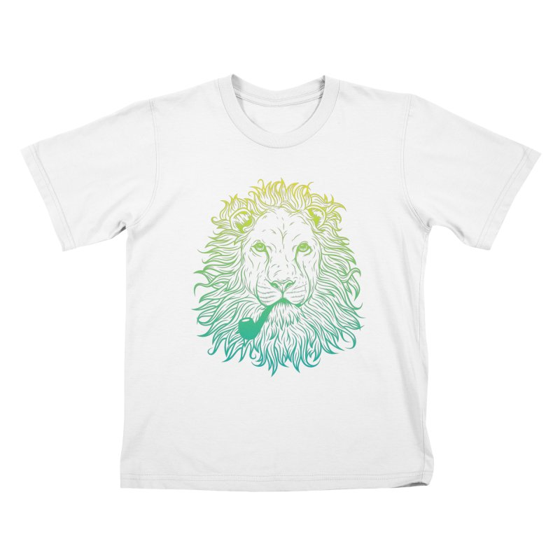 Lionize Me!! Kids T-Shirt by deonic's Artist Shop