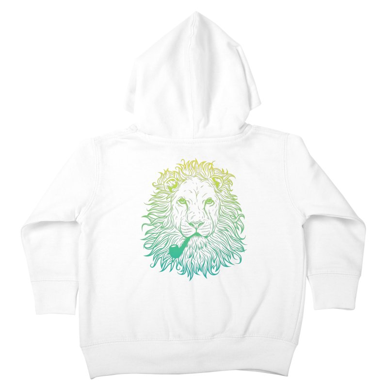 Lionize Me!! Kids Toddler Zip-Up Hoody by deonic's Artist Shop