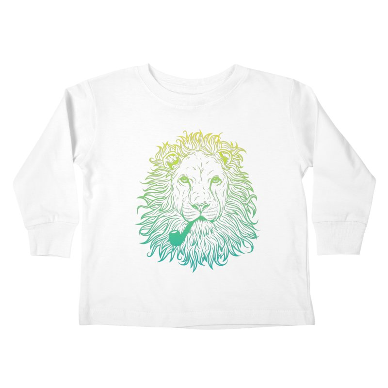 Lionize Me!! Kids Toddler Longsleeve T-Shirt by deonic's Artist Shop