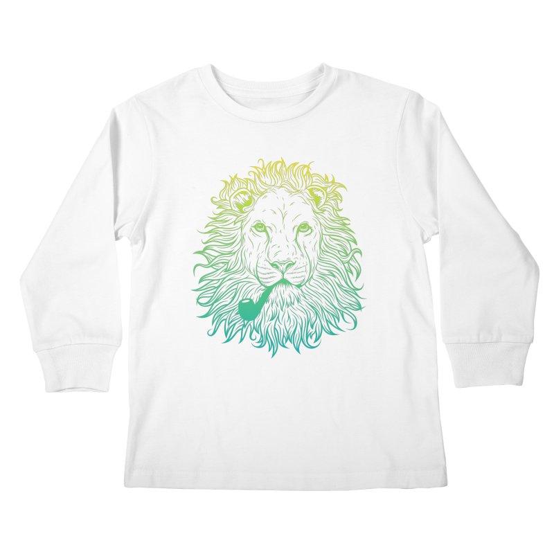 Lionize Me!! Kids Longsleeve T-Shirt by deonic's Artist Shop