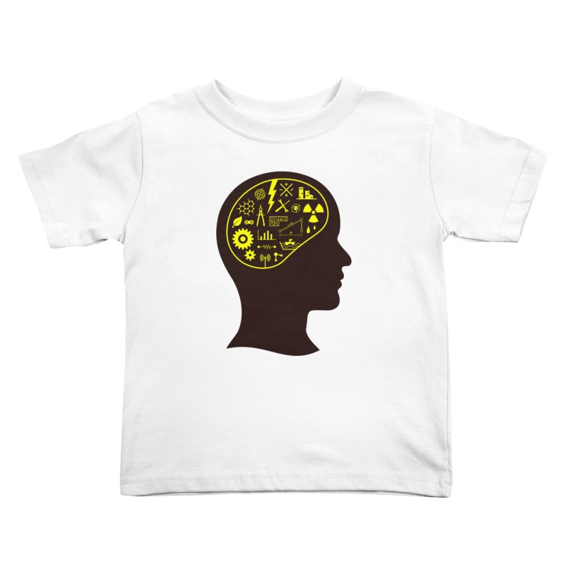 Engineering Mind Kids Toddler T-Shirt by deonic's Artist Shop