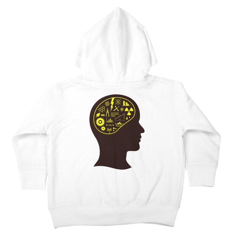 Engineering Mind Kids Toddler Zip-Up Hoody by deonic's Artist Shop