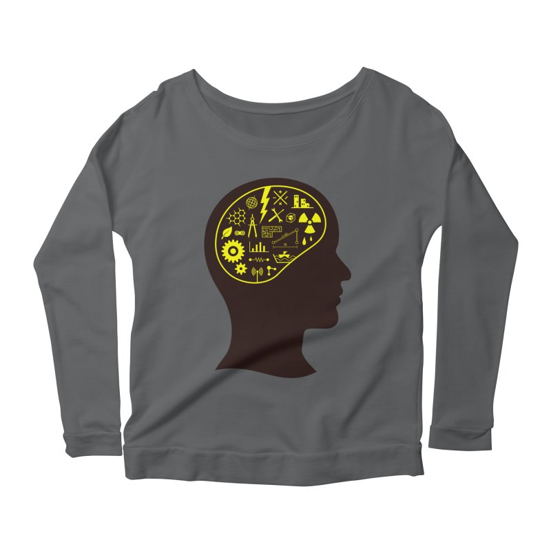 Engineering Mind Women's Longsleeve T-Shirt by deonic's Artist Shop