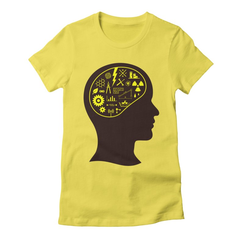 Engineering Mind Women's T-Shirt by deonic's Artist Shop