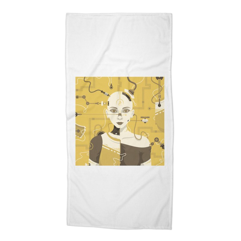 C-245 Accessories Beach Towel by deonic's Artist Shop
