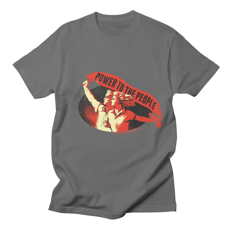 Power to the People Men's T-Shirt by Propaganda Department