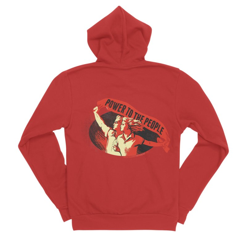 Power to the People Men's Zip-Up Hoody by Propaganda Department