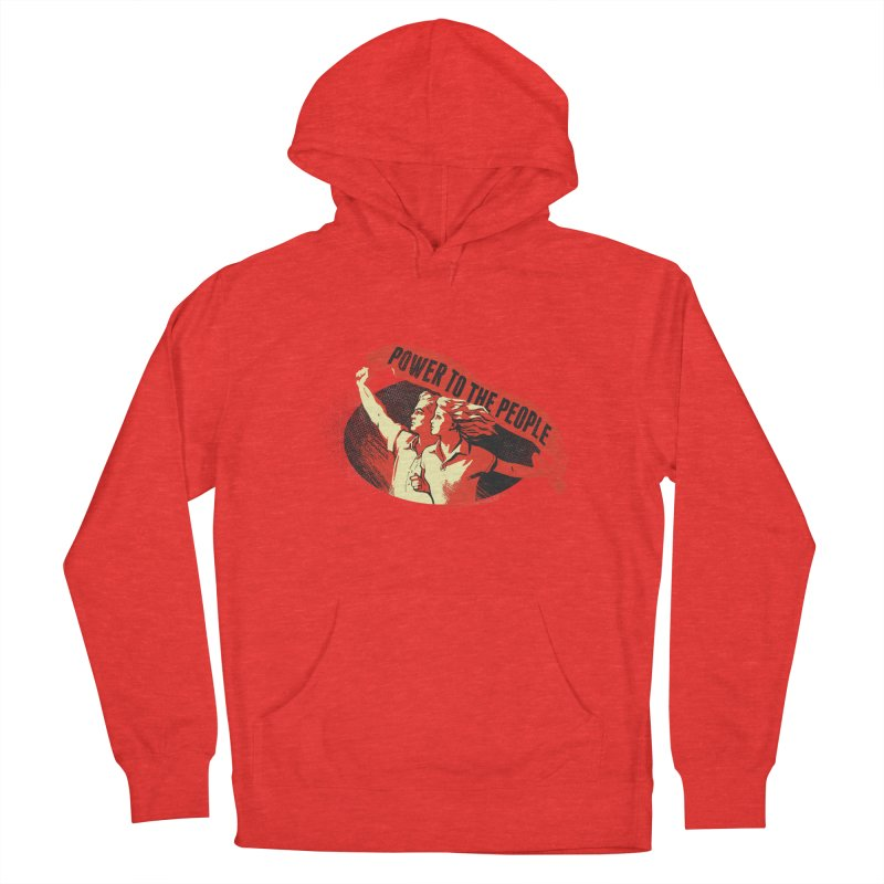 Power to the People Men's Pullover Hoody by Propaganda Department