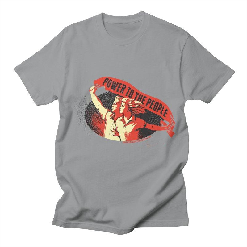 Power to the People Men's Regular T-Shirt by Propaganda Department