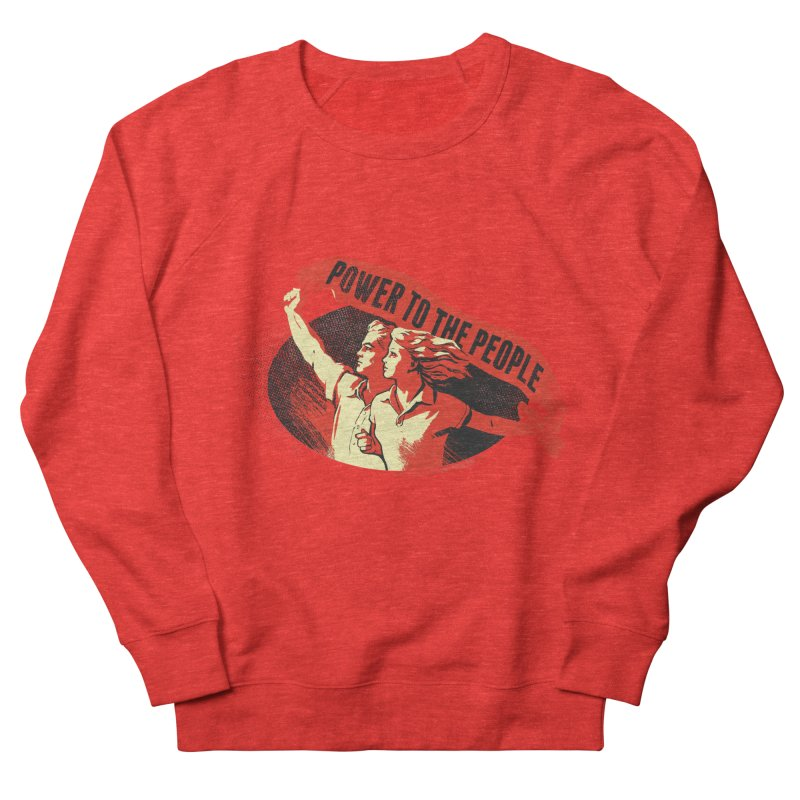 Power to the People Men's Sweatshirt by Propaganda Department