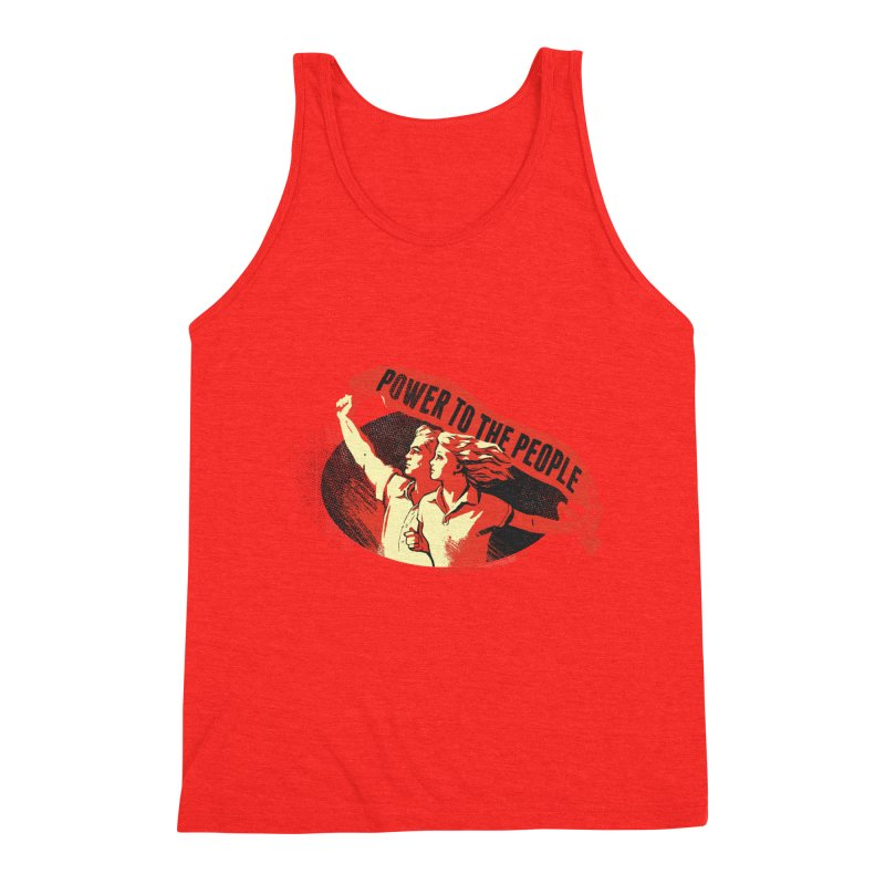 Power to the People Men's Tank by Propaganda Department