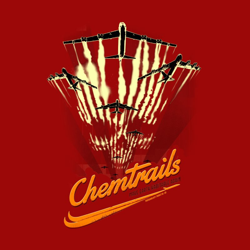 Chemtrails Men's V-Neck by Propaganda Department