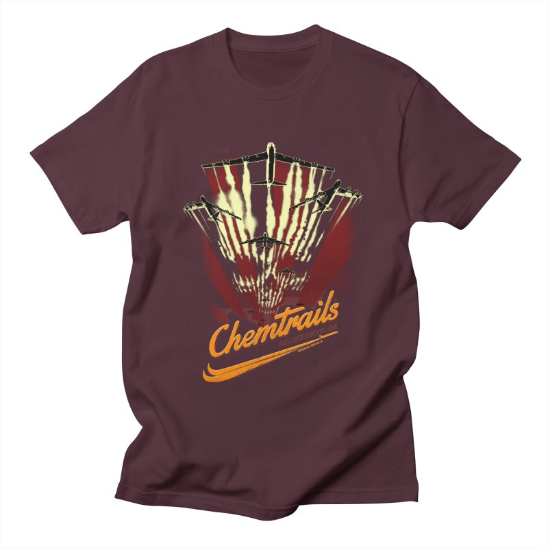 Chemtrails Men's T-Shirt by Propaganda Department